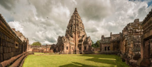 Phanom Rung temple, near Buriram, Northeast Thailand. Phanom Rung was built between Xth and XIIIth century and is the largest khmer temple in Thailand.